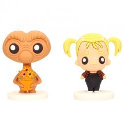 Set 2 figuras Pokis E.T. & Gertie E.T. - Imagen 1