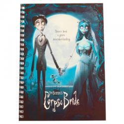 Cuaderno La Novia Cadaver - Imagen 1