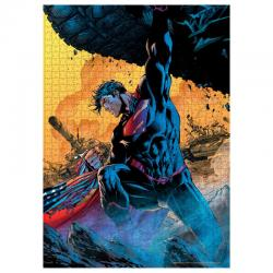 Puzzle Superman Tanque DC Comics 1000pzs - Imagen 1