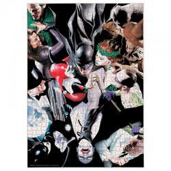 Puzzle Batman Enemigos DC Comics 1000pzs - Imagen 1