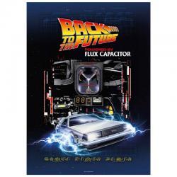 Puzzle Powered by Flux Capacitor Regreso al Futuro 1000pzs - Imagen 1