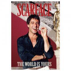 Puzzle Revista Scarface 1000pcs - Imagen 1