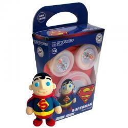 Plastilina Super Dough Superman DC Comics DIY - Imagen 1