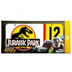 Replica matricula Dennis Nedry Jurassic Park - Imagen 1