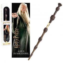 Varita + marcapaginas 3D Dumbledore Harry Potter - Imagen 1