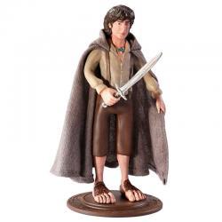 Figura Maleable Bendyfigs Frodo El Señor de los Anillos 19cm - Imagen 1