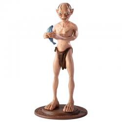 Figura Maleable Bendyfigs Gollum El Señor de los Anillos 19cm - Imagen 1