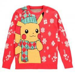 Jersey Navidad Pikachu Pokemon - Imagen 1