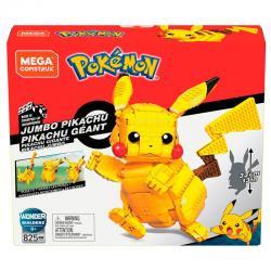 Set Construccion Mega Contrux Pikachu Pokemon 825pzs - Imagen 1