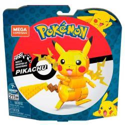 Set Construccion Mega Contrux Pikachu Pokemon 211pzs - Imagen 1