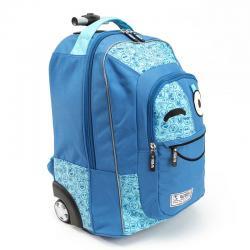Trolley Spirit Emoticons Blue - Imagen 1