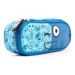 Portatodo Spirit Emoticons Blue ovalado - Imagen 1