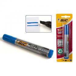 Blister marcador permanente Bic azul 2300 - Imagen 1