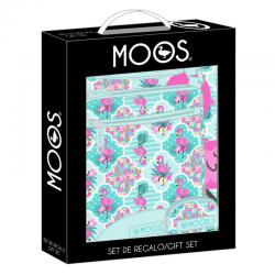 Set regalo Moos Flamingo Turquoise - Imagen 1