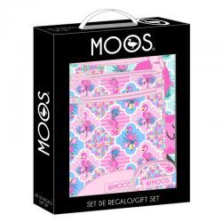 Set regalo Moos Flamingo Pink - Imagen 1
