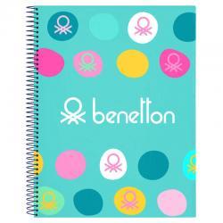 Cuaderno A4 Benetton Marino - Imagen 1