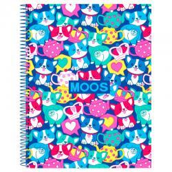 Cuaderno A4 Moos Corgi - Imagen 1
