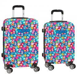 Set 2 maletas trolley ABS Moos Corgi 4r 55/63cm - Imagen 1