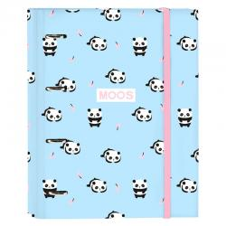 Carpesano A4 Moos Panda anillas - Imagen 1