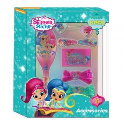 Set accesorios cabello Shimmer y Shine 8pz - Imagen 1