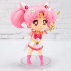 Figura articulada Super Sailor Chibi Moon Sailor Moon Eternal 9cm - Imagen 1