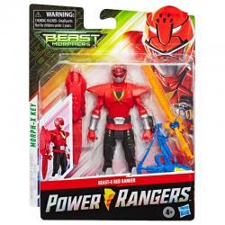 Figura Beast X Mode Red Ranger Power Rangers Beast Morphers 15cm - Imagen 1