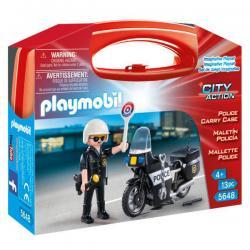 Maletin Policia Playmobil City Action - Imagen 1