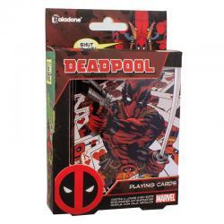 Baraja cartas Deadpool Marvel - Imagen 1