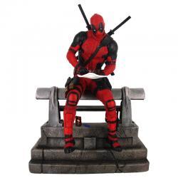 Estatua Deadpool Marvel Movie Premier 25cm - Imagen 1