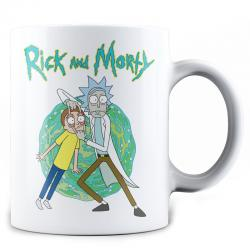 Taza Open Your Eyes Rick and Morty - Imagen 1
