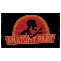 Felpudo Anatomy Park Rick and Morty - Imagen 1