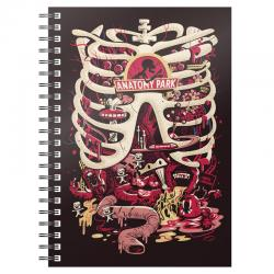 Cuaderno A5 Anatomy Park Rick and Morty - Imagen 1