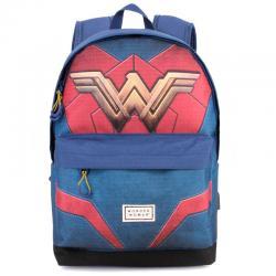 Mochila Wonder Woman DC Comics adaptable 42cm - Imagen 1