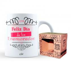 Taza Dia Enamorados - Imagen 1
