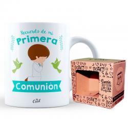 Taza Primera Comunion Niño - Imagen 1