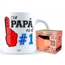 Taza Mi Papa Es El 1 - Imagen 1