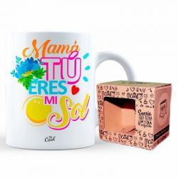 Taza Mama Tu Eres Mi Sol - Imagen 1