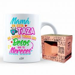 Taza Mama Todos Los Besos Que Te Mereces - Imagen 1