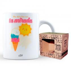 Taza Me Derrites Con Tu Mirada - Imagen 1