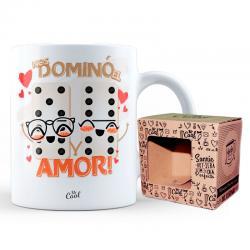 Taza Nos Domino El Amor - Imagen 1
