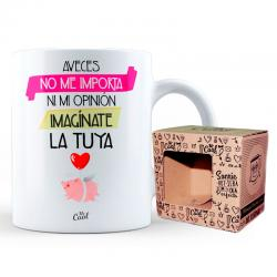 Taza A Veces No Me Importa Ni Mi Opinion - Imagen 1