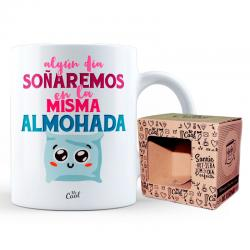 Taza Algun Dia Soñaremos En La Misma Almohada - Imagen 1