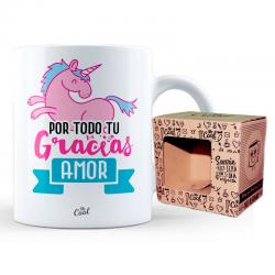 Taza Gracias Amor - Imagen 1