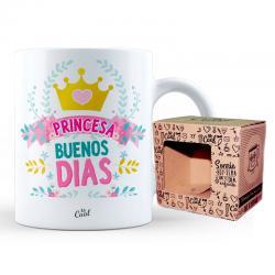 Taza Princesa Buenos Dias - Imagen 1