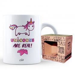 Taza Unicorns are Real - Imagen 1