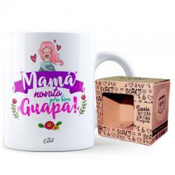 Taza Mama Novata Pero Bien Guapa - Imagen 1