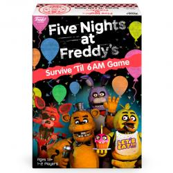 Juego mesa Ingles Five Nights at Freddy's Survive 'Til 6AM Game - Imagen 1
