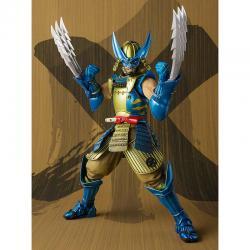 Figura articulada Muhomono Wolverine X-Men Marvel 18cm - Imagen 1