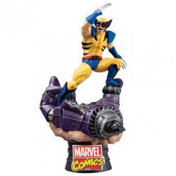 Figura Diorama Lobezno X-Men Marvel 16cm - Imagen 1