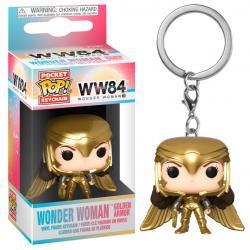 Llavero Pocket POP DC Wonder Woman 1984 Wonder Woman Gold Wing - Imagen 1